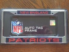 New England Patriots License Plate Frame. Brand New. Reflective.
