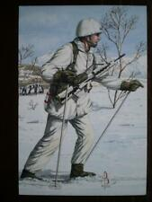 POSTCARD 2ND BN THE ROYAL REGIMENT OF FUSILIERS - 2ND LIEUTENANT NORWAY 1991