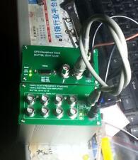 10MHZ  SQUARE WAVE GPS DISCiPLINED CLOCK GPSDO + Distribution amplifier OCXO
