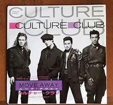 "CULTURE CLUB - Move Away / Sexuality JAPAN VINYL 7"" Vinyl  Boy George 07VA-1032"