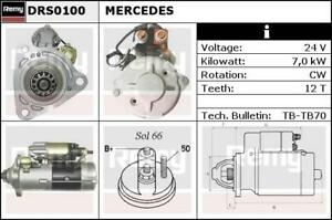 Mercedes Truck Actros Starter Motor DRS0100 DS1210 Delco Remy No Surcharge