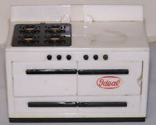 Vintage Ideal 1:16 Dollhouse Furniture Kitchen Stove. preowned.