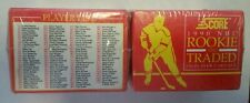 (2) 1990 Score NHL Rookie and Traded Factory Sets New Sealed