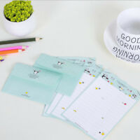 4 Sheet Letter Paper+ 2pcs Envelopes Message Writing Letter Set Office Supplies