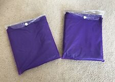 Brand New Purple Ponchos X2 Rain & Weather Protection