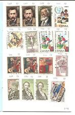 One circulated Spain stamp club society circuit approval booklet. Collection B.