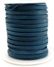 Deerskin Deer Leather Lace Spool Roll 1/8 3Mm 50 Ft Cord String Navy Blue