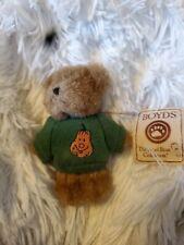 Boyds Bears orange Happy Pumpkin Halloween mini bear #567046 - New!