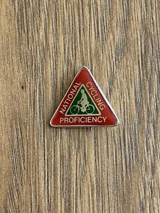 Vintage Cycling Proficiency Test Pin Badge