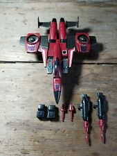 Vintage Authentic G1 Transformers Thrust Complete Mint Very Nice
