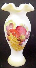 Fenton Glass Cornucopia Vase 100th Anniversary Family Signature Limited to 250