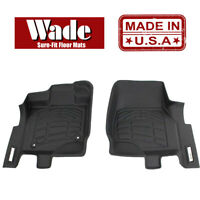 Sure-Fit Floor Mats Front - Fits Jeep Wrangler JK 2014 - 2018