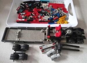 Lego Model Team 5590 Part Complete Set Truck, Trailer & Helicopter