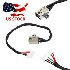 DC POWER JACK CHARGING PORT HARNESS CABLE FOR Dell Inspiron 15 41113 5100 USA