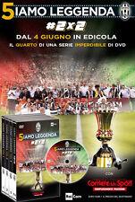 DVD N°4 5IAMO LEGGENDA FC JUVENTUS CAMPIONE D'ITALIA 2015/2016 OFFICIAL SIAMO