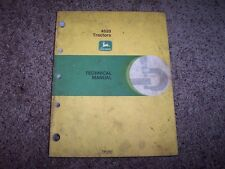 John Deere 4520 Tractor Tm1007 Technical Service Shop Repair Manual