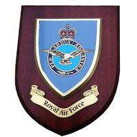 Royal Air Force RAF Military Shield Wall Plaque