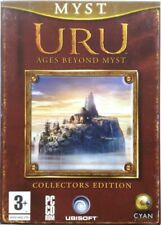 Game PC Uru - Ages beyond Myst - Limited Collector's Edition Ubisoft 2003 Used