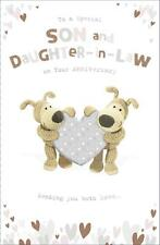 BOOFLE SPECIAL SON AND DAUGHTER IN LAW ANNIVERSARY CARD NEW GIFT