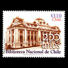Chile 2013 - 200th Anniv of the National Library Architecture - Sc 1598 MNH