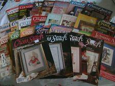 Set of 26 Cross-Stitch Magazines