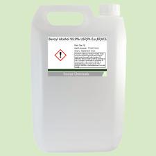 Benzyl Alcohol 99.9% USP,Ph Eur,BP,ACS 5 Litre (5L)