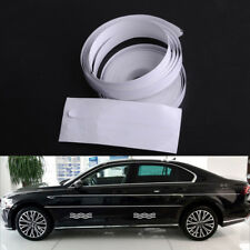 White 12mm Car Auto Vinyl Double Line Pinstripe Streamline Stripe Tape Stickers