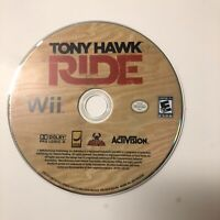 Tony Hawk: Ride (Nintendo Wii, 2009) Game Only requires Wii Skateboard