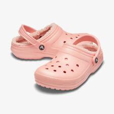 Crocs Classic Lined Clogs Size Women 11 Melon # 203591 6JC