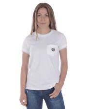 T shirt Kenzo Sweatshirt Coton Femme Blanc 981 2TS858 1 TL. M