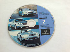 2003 MERCEDES S430 S500 S55 S600 NAVIGATION MAP NW CD 2 AZ CO ID NM MT WY OR UT