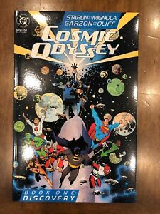 DC Comics Cosmic Odyssey Issues #1-4 (1988) New Gods Return Excellent Copies