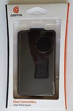 iPod Touch 4G 4th Gen GRIFFIN Elan Convertible Case Flip Cover & Belt Clip