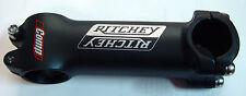 "RITCHEY attacco manubrio bici corsa alloy bike handlebar stem 1-1/8"" 110 mm nero"