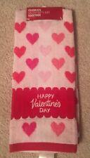 Celebrate Valentine's Day Together 'Happy Valentine's Day' Bath/Kitchen Towel