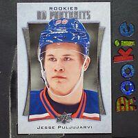 JESSE PULJUJARVI  2016/17  UD  Portraits  ROOKIES  #P87  Edmonton Oilers