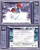 2013 Bowman Inception Didi Gregorius Rookie Autograph RC AUTO BGS 9 MINT!