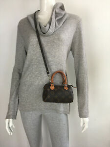 Vintage Louis Vuitton Nano mini Speedy bag with Strap