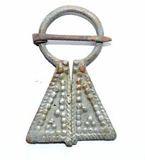 VIKING SILVERED BRONZE PENANNULAR BROOCH / FIBULA - HISTORICAL GIFT - ST51