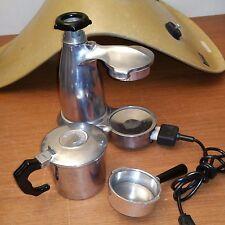 Vintage Vesuviana Espresso Coffee Maker Electric Made in Italy Needs Gaskets