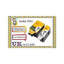 6 tintas compatibles para Kodak 30 XL Negro Y Color ESP C110 C310 C315 Impresora