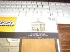 SUPERQUICK MODEL KIT - B35 - THE MARKET HOUSE - 00 & HO GAUGE