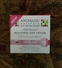 Andalou Naturals 1000 Roses Beautiful Day Cream, 1.7 Ounce