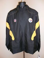 NEW Pittsburgh Steelers Reebok MENS LARGE L Sideline Jacket MSRP $70