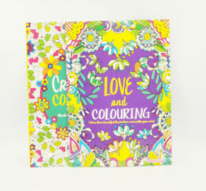 2x Mind Relaxing Colouring Book Books Kids - Adult Stress Relief Colour Therapy