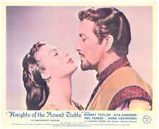 Knights of the Round Table original lobby card Ava Gardner Robert Taylor