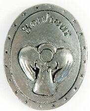Médaille En Étain Larme D'ange Bonheur (Fabrication Française)