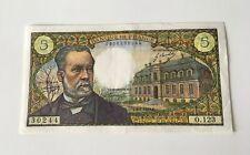 Billet 5 Francs Pasteur 1970
