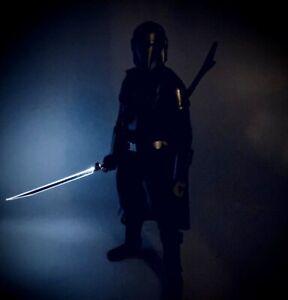 LED Darksaber Lightsaber Preorder For 1/6  Hot Toys Star Wars Figure