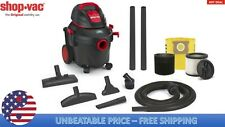 Shop-Vac 4-Gallon 5.5-HP Wet/Dry Home Garage Shop Vacuum-Cleaner Lightweight